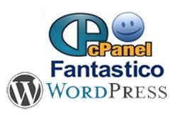 administrasjon av hjemmesider - WordPress Dashbord og cPanel