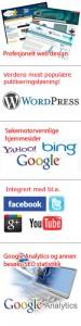 Nye søkemotoroptimaliserte hjemmesider