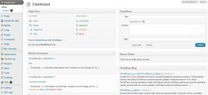 WordPress Dashbord