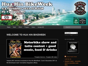 Huahin bikeweek - en av Thailands største motorsykkeltreff