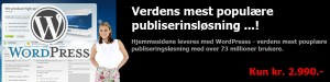 Verdens mest populære publiseringsløsning